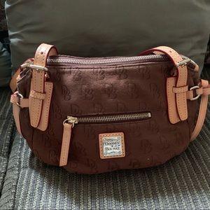 Dooney & Bourke small brown satchel